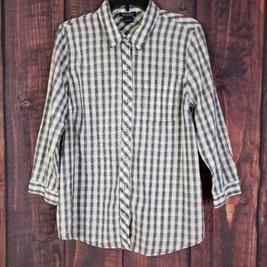 Lucky Brand Buttom Shirt Size Large